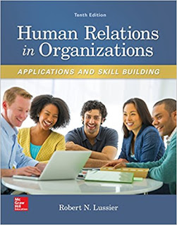 Human Relations in Organizations: Applications and Skill Building Edition 10e Lussier Test Bank 1