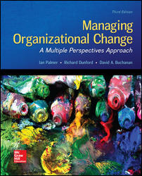 Managing Organizational Change Edition 3e Palmer Test Bank 1