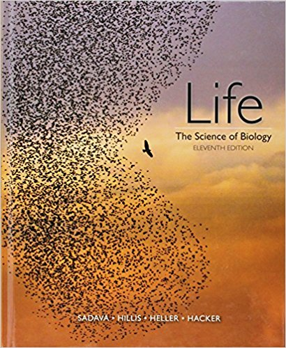 Life The Science of Biology 11th Edition E. Sadava, M. Hillis ,H. Craig Heller ,D. Hacker Test Bank (Publisher W. H. Freeman;) 1