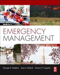 Introduction to Emergency Management, 6th Edition by George Haddow Jane Bullock Damon P. Coppola im w Test Bank ( elsevier publisher ) 1