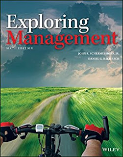 Exploring Management, 6th Edition Schermerhorn, Bachrach Solution Manual 1