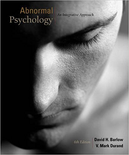 est Bank For Abnormal Psychology: An Integrated Approach 6th Edition by David H. Barlow 1