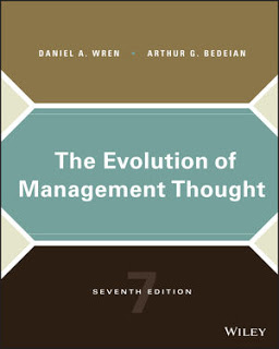 Test Bank and Instructor manual The Evolution of Management Thought, 7th Edition Wren, Bedeian Test Bank and Instructor manual 1