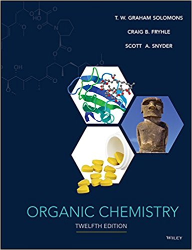 Test Bank and Solution Manual for Organic Chemistry, 12th Edition Solomons, Fryhle, Snyder Test Bank + Solution Manual 1