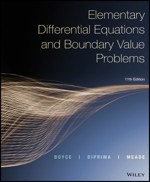 Test Bank and Solution Manual for Elementary Differential Equations and Boundary Value Problems, Enhanced eText, 11th Edition Boyce, DiPrima, Meade 1