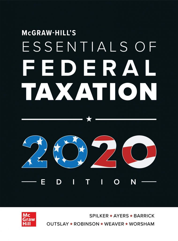 Essentials of Federal Taxation 2020 Edition 11th Edition Spilker Ayers Test Bank and solution Manual 1 1