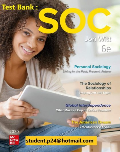SOC 2020 6th Edition By Jon Witt © 2020 Test Bank and Solution Manual 800x1024 1