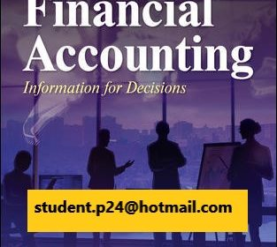 Financial Accounting Information for Decisions 10th Edition By John Wild © 2021 Test Bank and Solution Manual