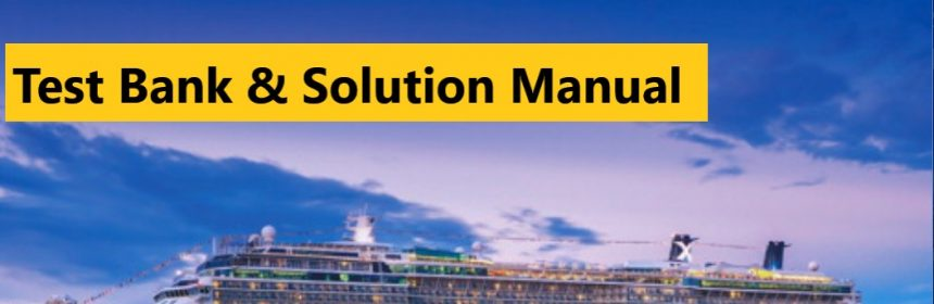 Operations Management Sustainability and Supply Chain Management, 13E Heizer, Render & Munson ©2020 Test Bank and Solution Manual