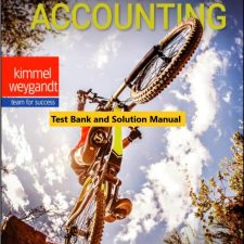 Survey of Accounting, Enhanced eText, 2nd Edition Kimmel, Weygandt 2020 Instructor Solution Manual + Excel SM and Test Bank